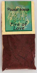 1oz Fire of Love powder incense