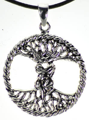 Silver Plated Brass Tree of Life