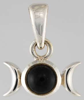 Triple Goddess Black Onyx