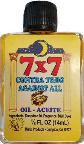 7x7 Against All oil 4 dram