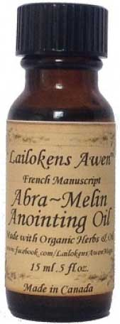 15ml Abra Melin (french) Lailokens Awen oil