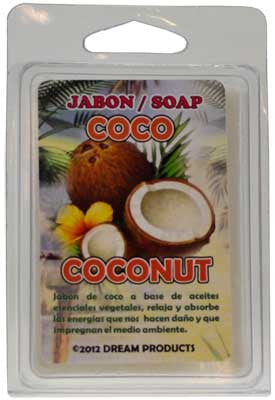 Coconut glycerine soap 3.5oz