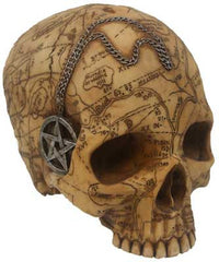 Salem Witch Skull statue