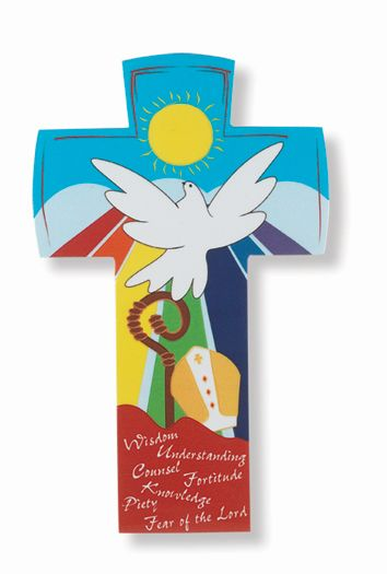 "CONFIRMATION CROSS 6.5"" BOXED"