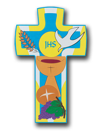 COMMUNION CROSS BOXED 6.5""