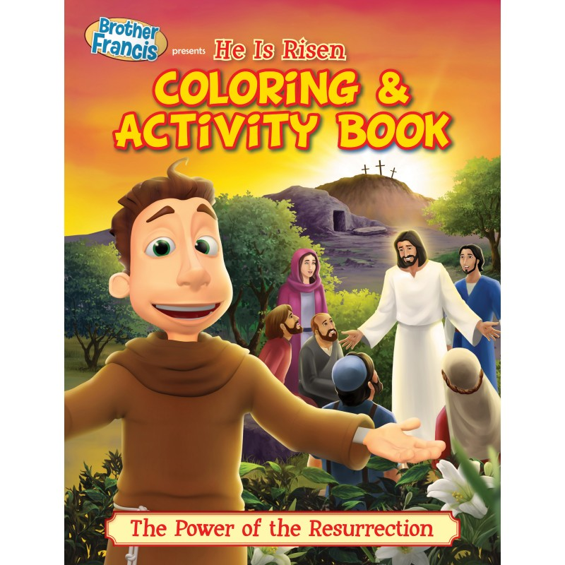 HE IS RISEN COLORING ACTIVITY