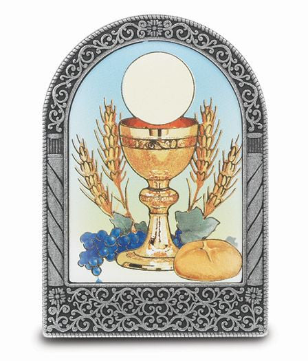 COMMUNION STANDING PLAQUE
