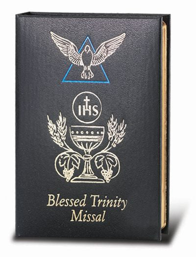 BLESSED TRINITY BLACK MISSAL