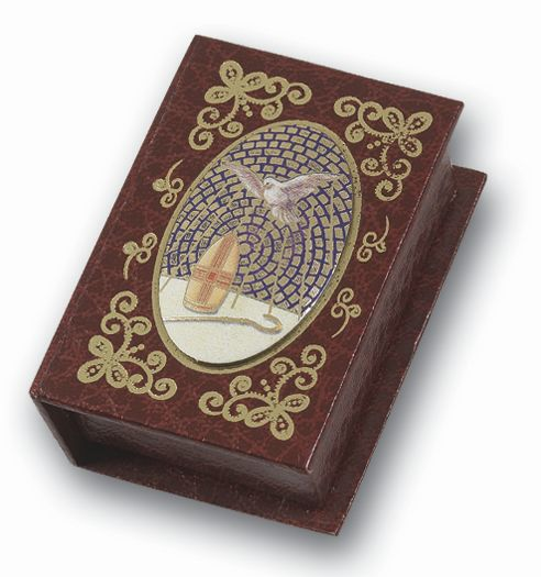 CONFIRMATION ROSARY BOX W/HS