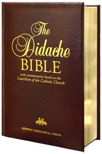 DIDACHE BIBLE NABRE LEATHER