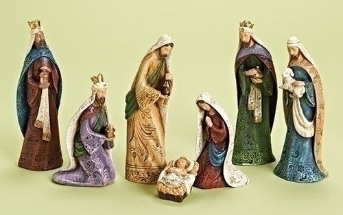 7PC ST TRADITIONAL NATIVITY 9""