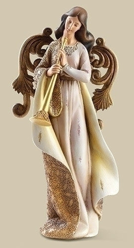 ANGEL FIG FAUX WOOD WINGS 12""