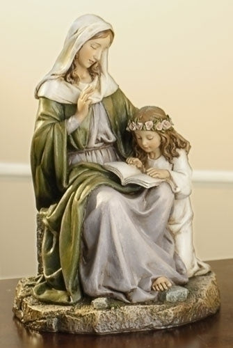 ST. ANNE WITH CHILD MARY 7""
