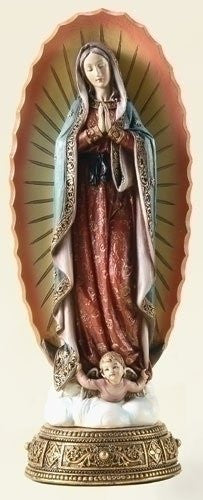 "11.75"" OUR LADY OF GUADALUPE"