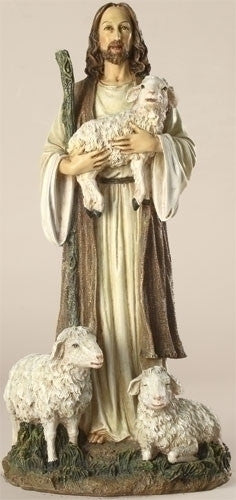 "CHRIST GOOD SHEPHERD/13"" RESI"