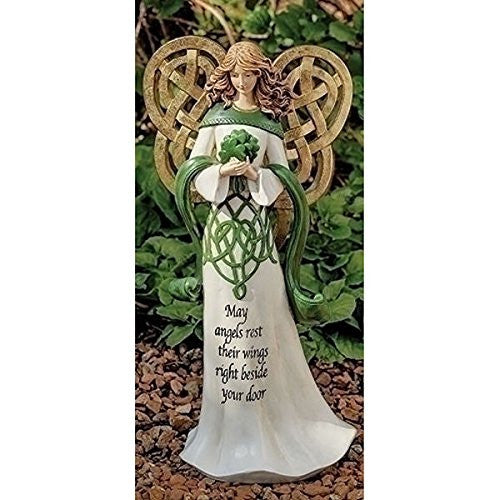 "IRISH GARDEN ANGEL 16"" H"