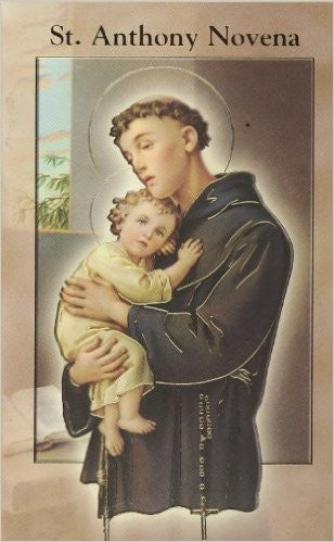 ST ANTHONY NOVENA AND PRAYERS