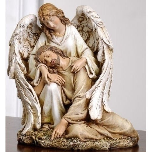 ANGEL COMFORTING CHRIST 7""