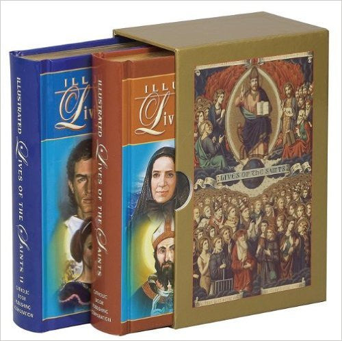 ILLUSTRATED LIVES SAINTS BOXED