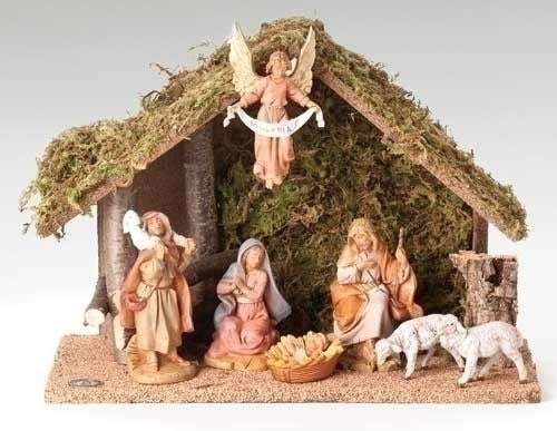 FONTANINI 7 PC NATIVITY/STABLE