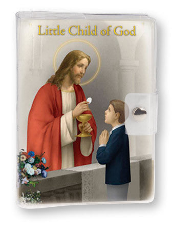 BOYS COMMUNION SET CHILD OF G