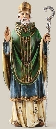 ST PATRICK STATUE RESIN