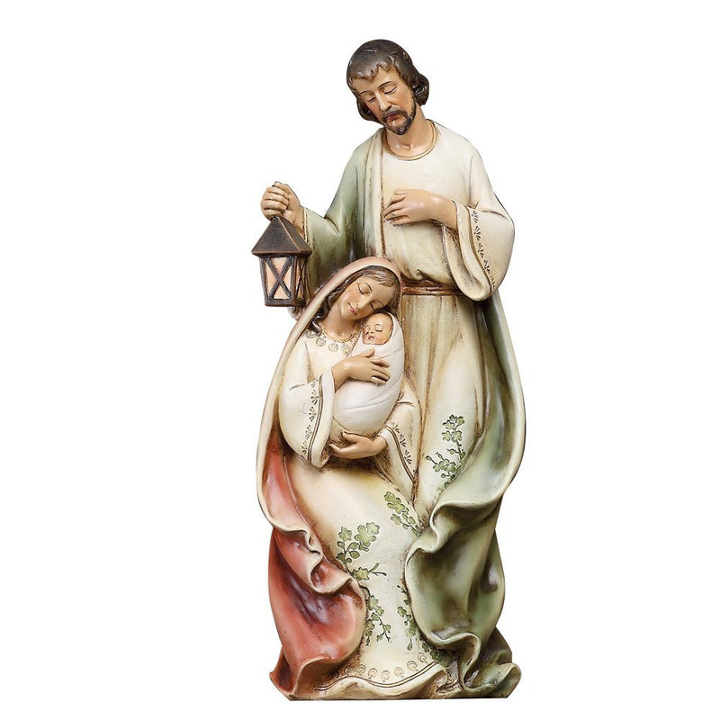 HOLY FAMILY WITH VINE DESIGN