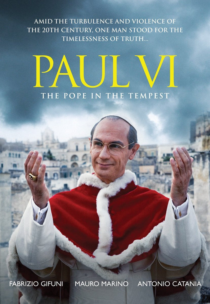 PAUL VI POPE IN THE TEMPEST