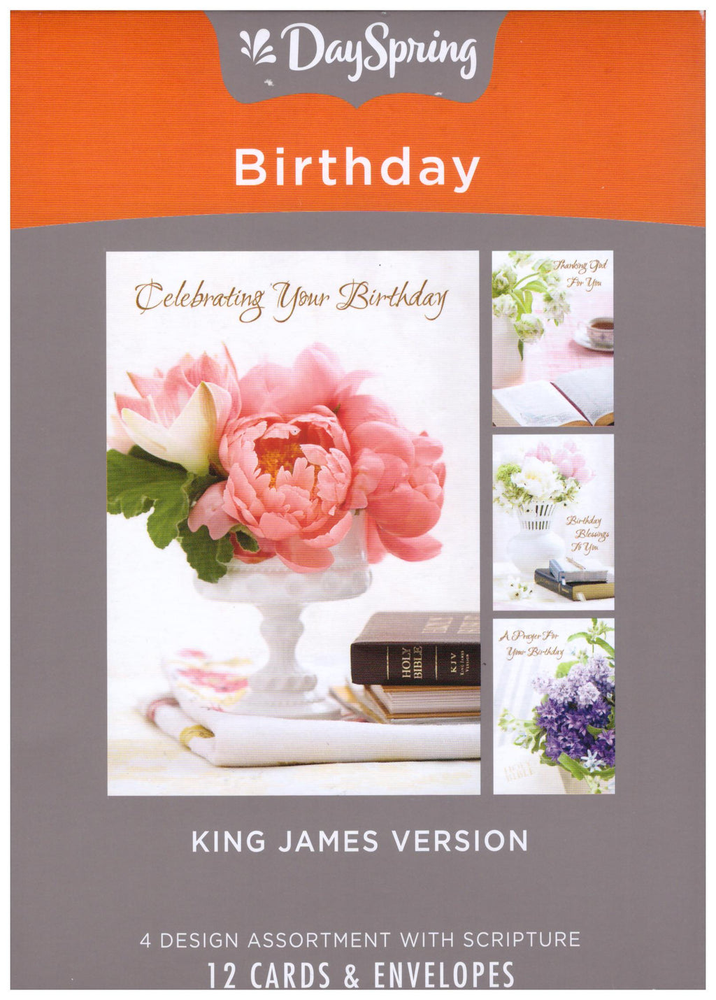 12 CT BIRTHDAY BOXED CARDS