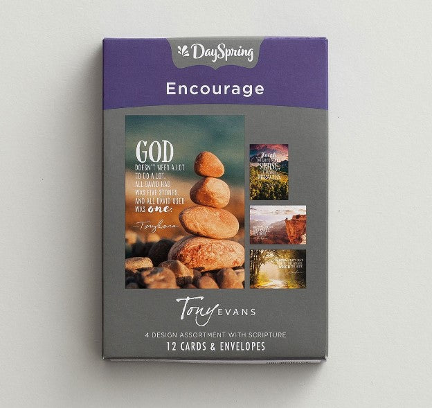 12 CT ENCOURAGE BOXED CARDS