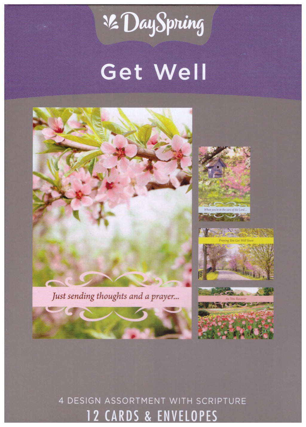 12 CT GET WELL BOXED CARD
