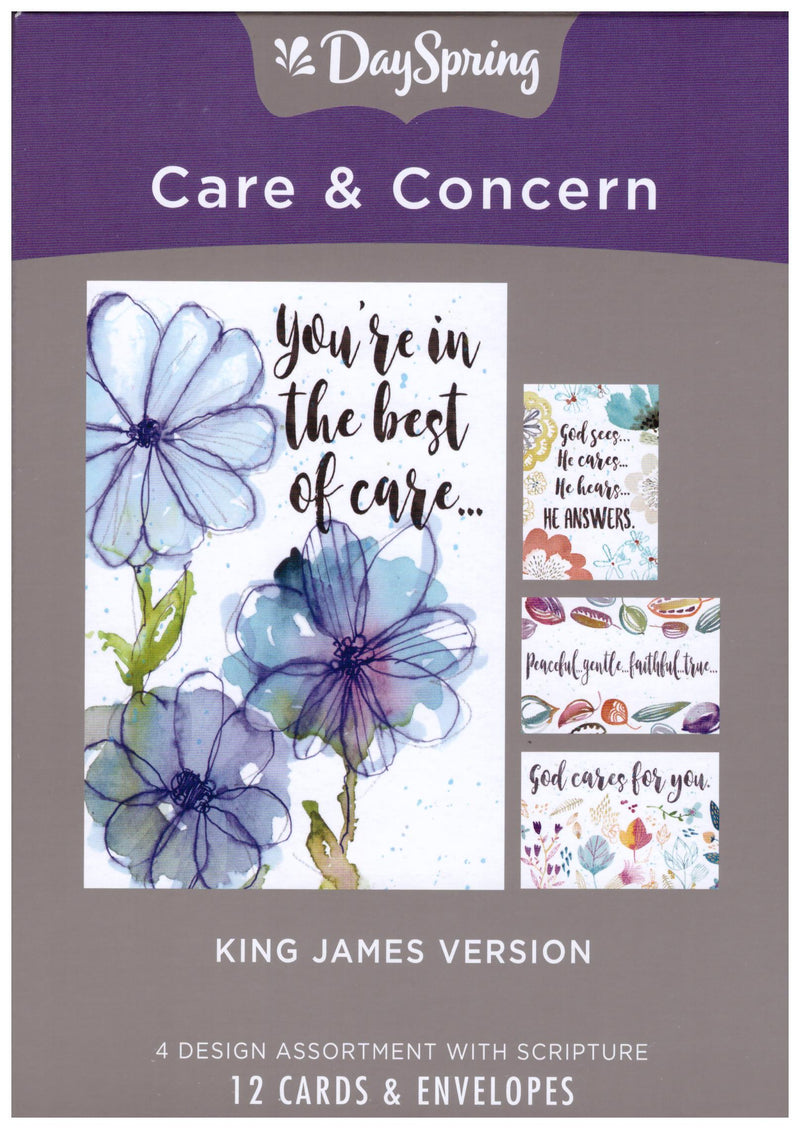 CARE & CONCERN SCRIPTURE 12 CT