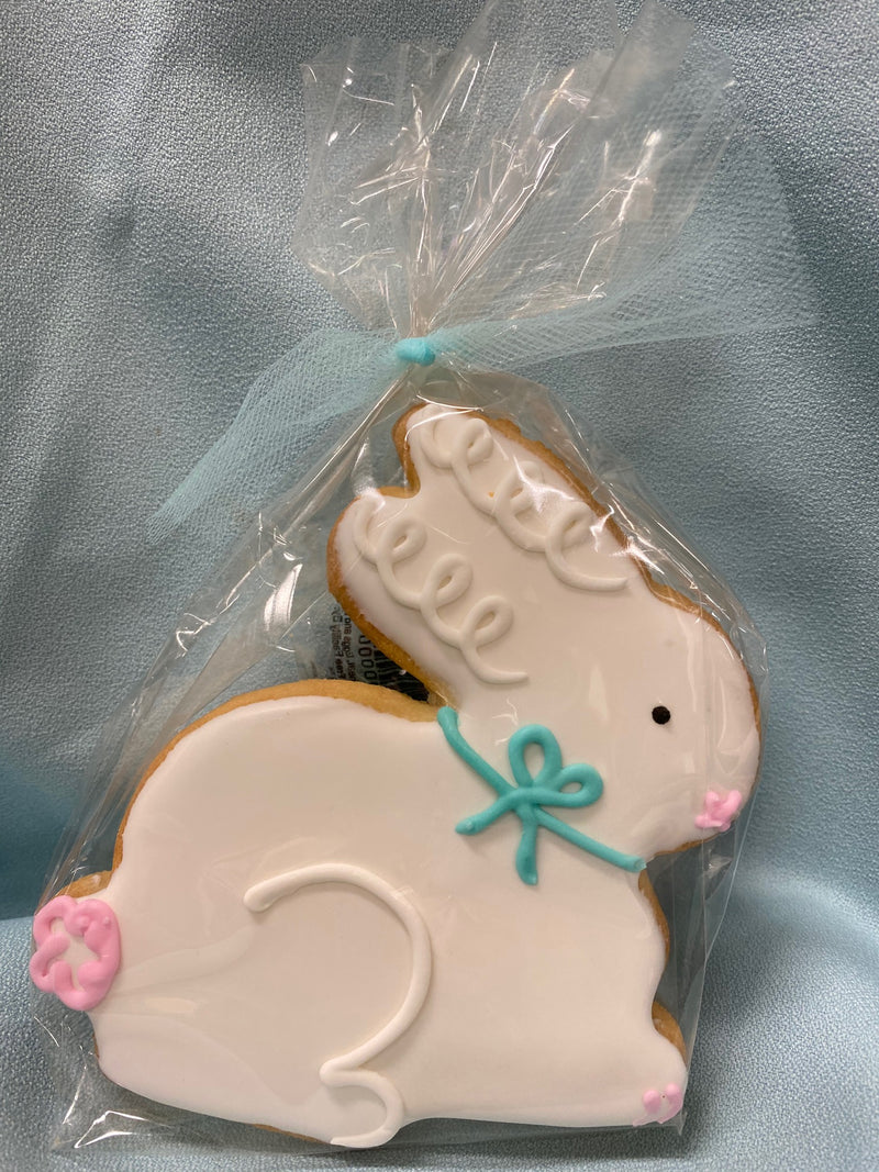 WHITE BUNNY RABBIT COOKIE