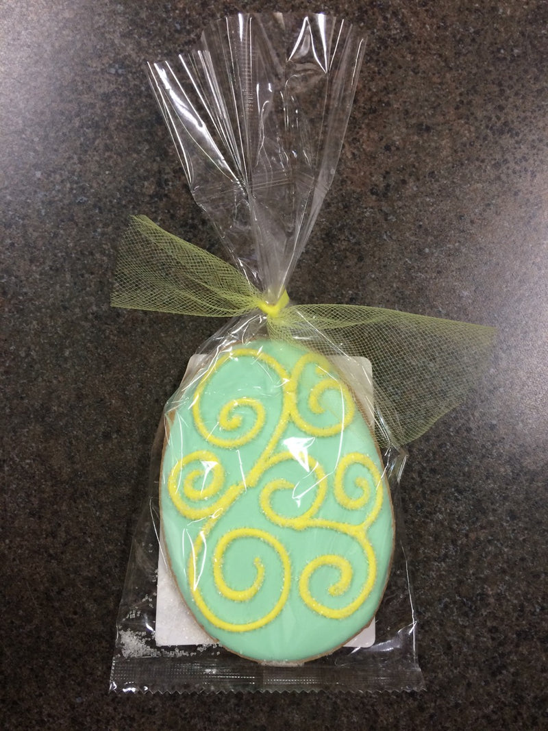 GREEN EASTER EGG COOKIE