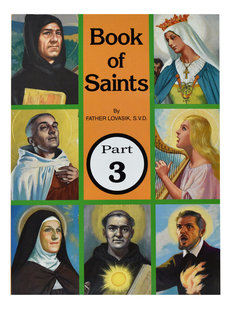 BOOK OF SAINTS #3