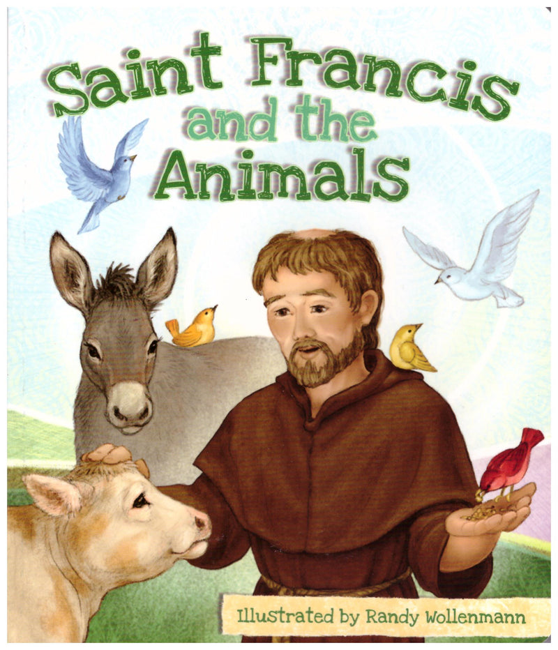 BOARD BOOK ST FRANCIS/ANIMALS