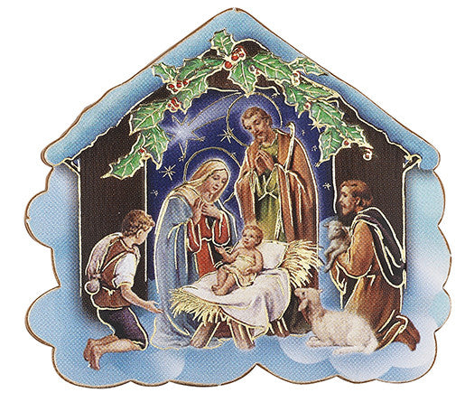 NATIVITY TO HAND OR STAND