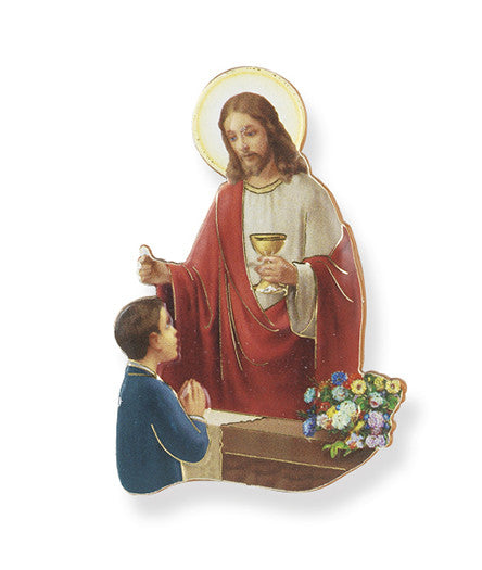COMMUNION STATUE MAGNET BOY