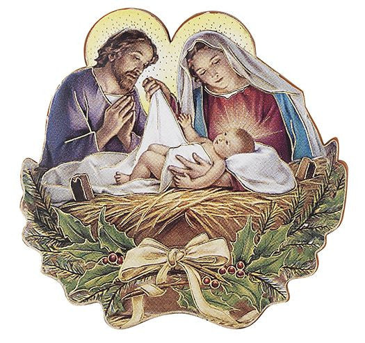 HOLY FAMILY CHRISTMAS MAGNET