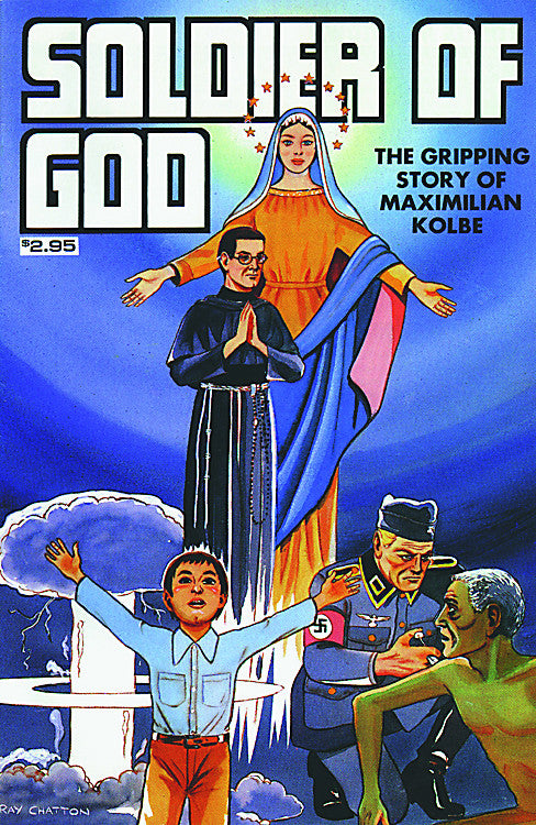 SOLDIER OF GOD COMIC BOOK
