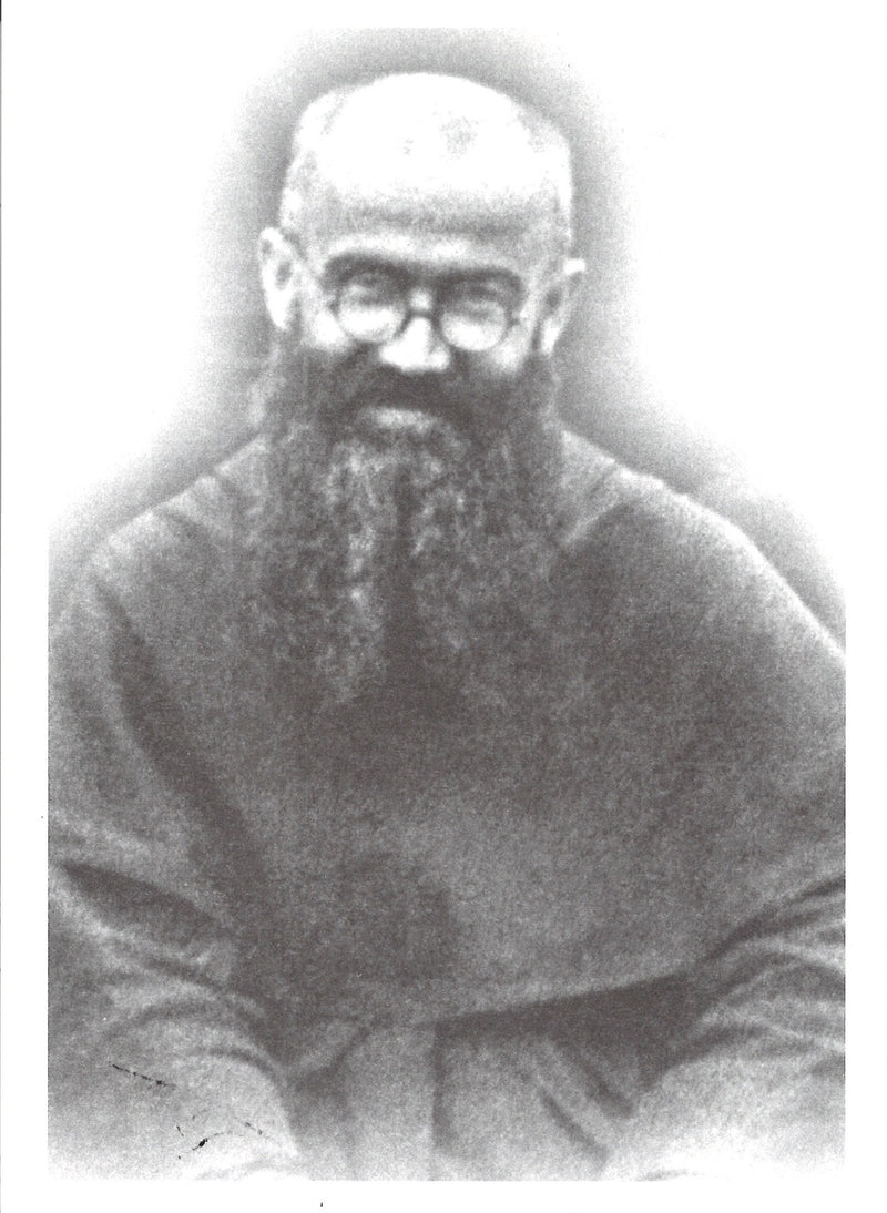 ST MAX KOLBE PHOTO BEARD/SMILE