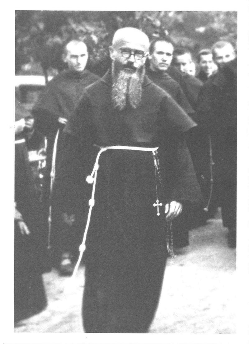 ST MAX KOLBE PHOTO WALKING