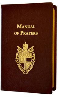 MANUAL OF PRAYERS-BURGUNDY