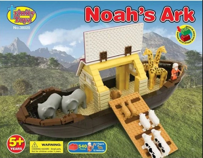 NOAHS ARK SET BUILDING BLOCKS
