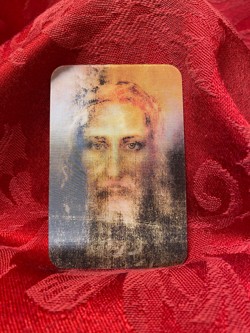SHROUD OF TURIN 3-D SMALL CARD