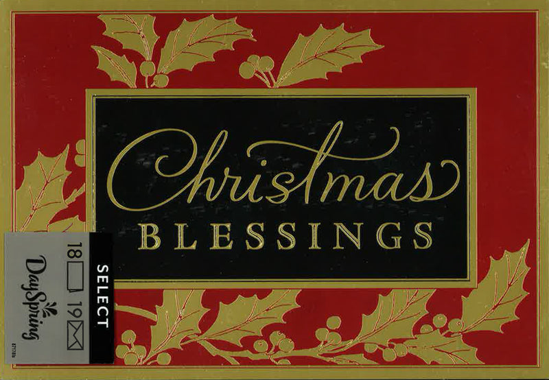 18CT CHRISTMAS BLESSINGS