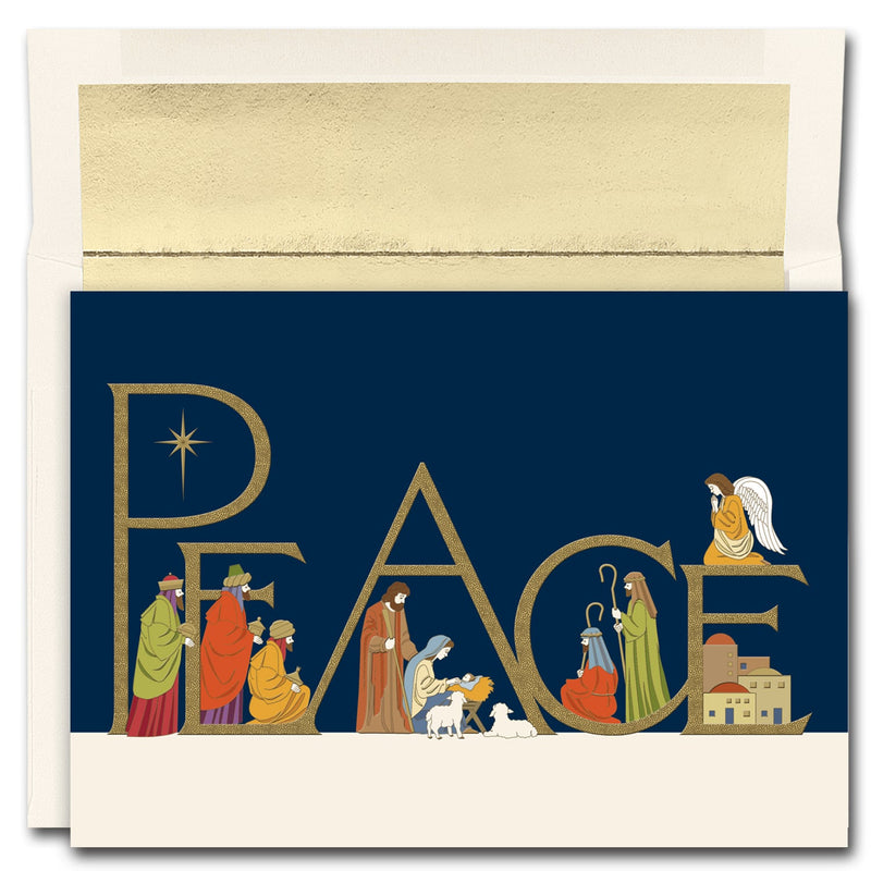 16CT BOX PEACEFUL NIGHT PEACE