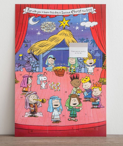 ADVENT CALENDAR PEANUTS