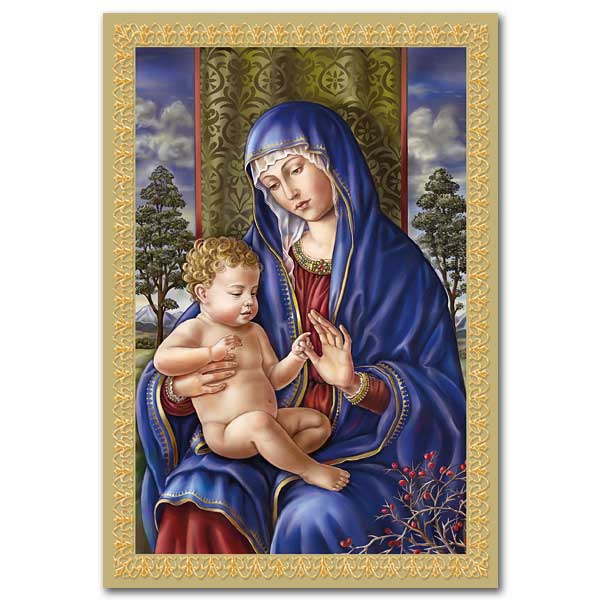 16CT MADONNA & CHILD OF TREES