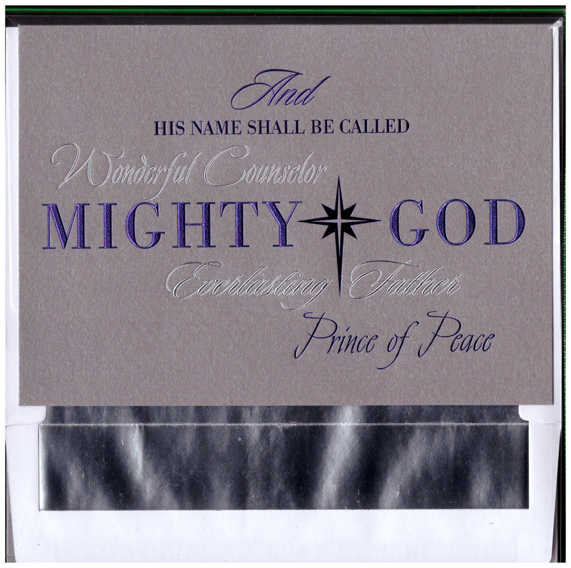 16CT BOXED CARDS MIGHTY GOD